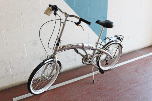 Bici Pieghevole Cinzia 20.Car Bike Alluminio Cinzia Velostazione Dynamo Servizi Bici