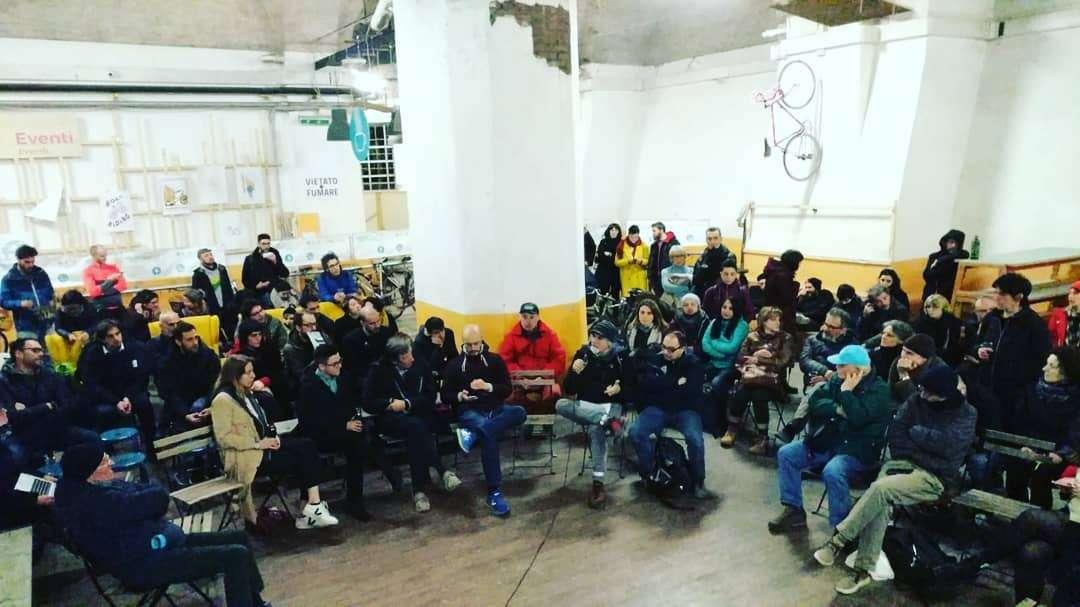 La prima delle assemblee aperte per discutere insieme alla cittadinanza il futuro di Dynamo.
