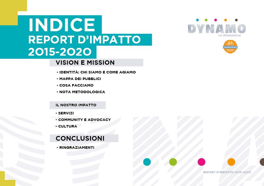 DYNAMO report di impatto 2020 - simo2