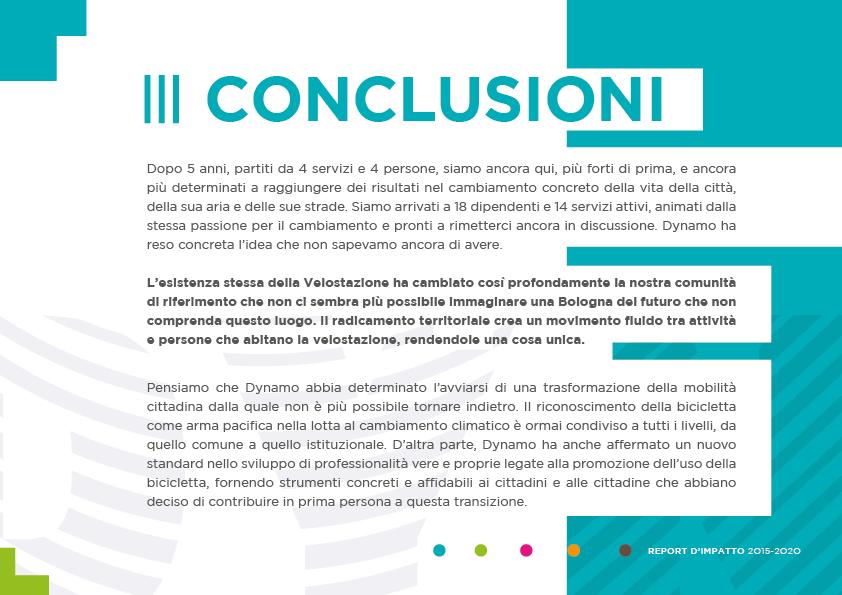 DYNAMO report di impatto 2020 - simo34